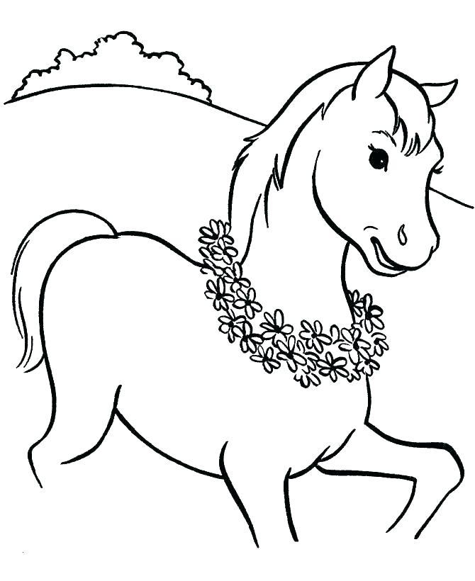 670x820 Printable Horseshoe Brackets Printable Coloring Horse Head
