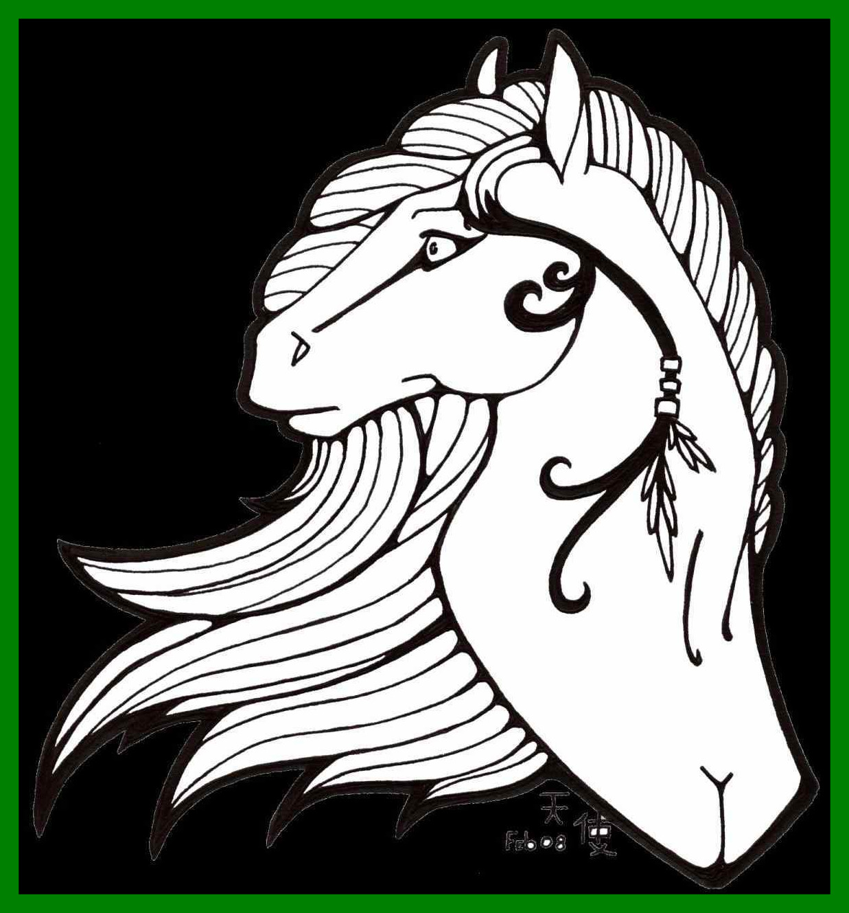 1237x1329 Unbelievable Quarter Horse Head Coloring Page Online Printable