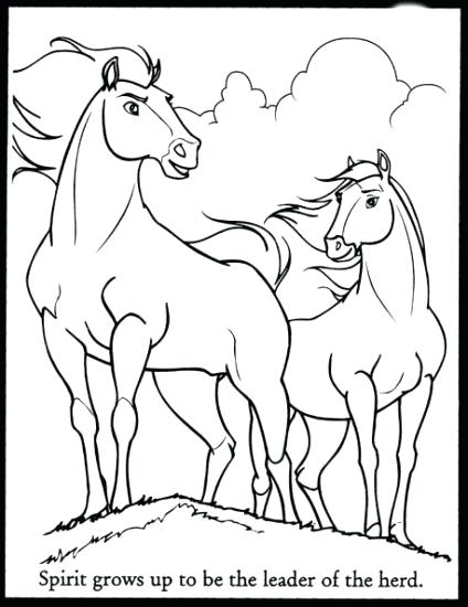Horse Herd Coloring Pages At Getdrawingscom Free For Personal Use