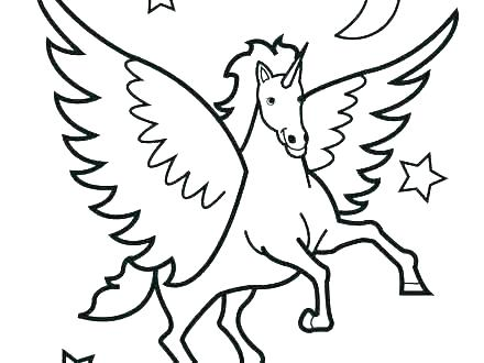 440x330 Horse Coloring Pages Printable Free Horse Color Pages Horse Head