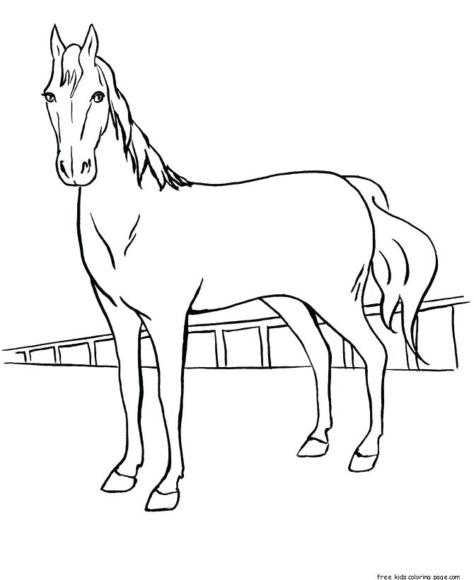 670x820 Running Horse Coloring Pages Running Horse Coloring Book Pictures