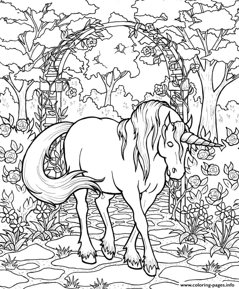 799x965 Mythical Horse Coloring Pages Printable