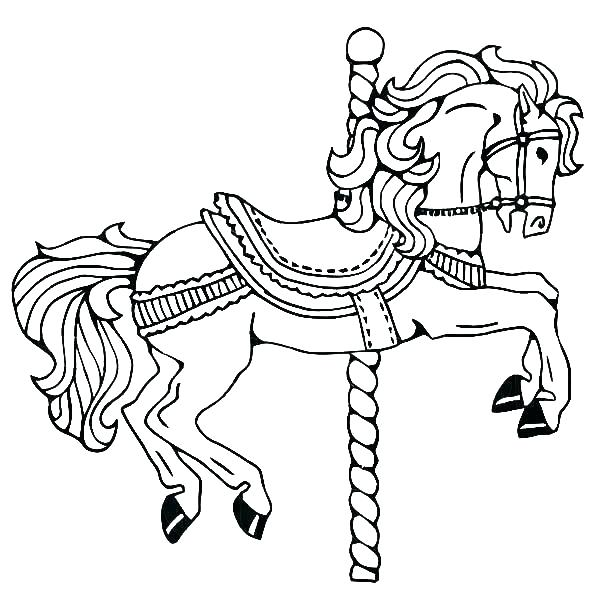 600x612 Coloring Coloring Page Of A Horse Paint Pages Horses Sheets Head