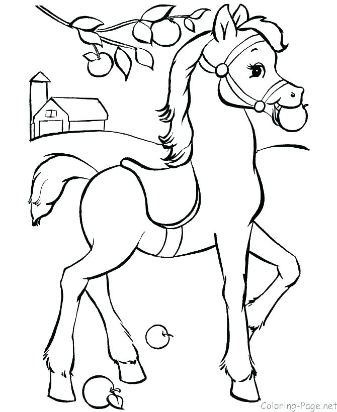 670x820 Dala Horse Coloring Page Elegant Galloping Horses Coloring Pages