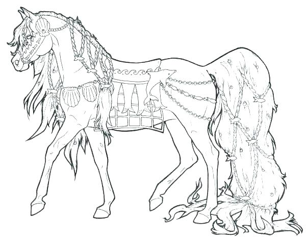 600x476 Horse Jumping Coloring Pages Coloring Pages Of A Horse Coloring
