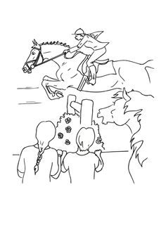 236x320 Jumping Horse Animal Coloring Pages Kids Color Horses