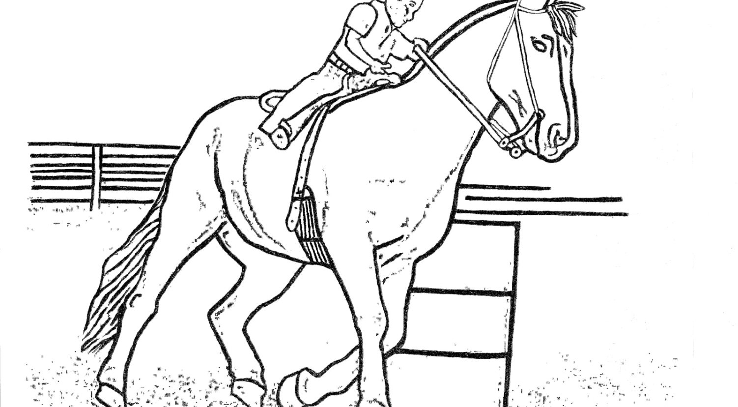 1502x828 Uncategorized Horse Jumping Coloring Pages Backgrounds Beautiful