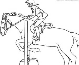 300x249 Horse Coloring Pages, Coloring Pictures Of Horses Jumping