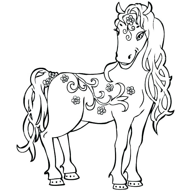 671x671 Coloring Pages Coloring Pages Of A Horse Jumping Horse Home