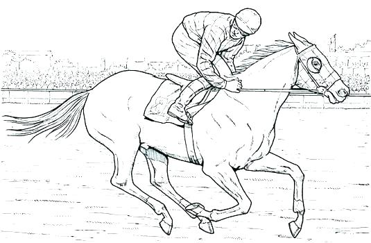 535x350 Arabian Horse Coloring Pages Realistic Horse Coloring Pages Horse