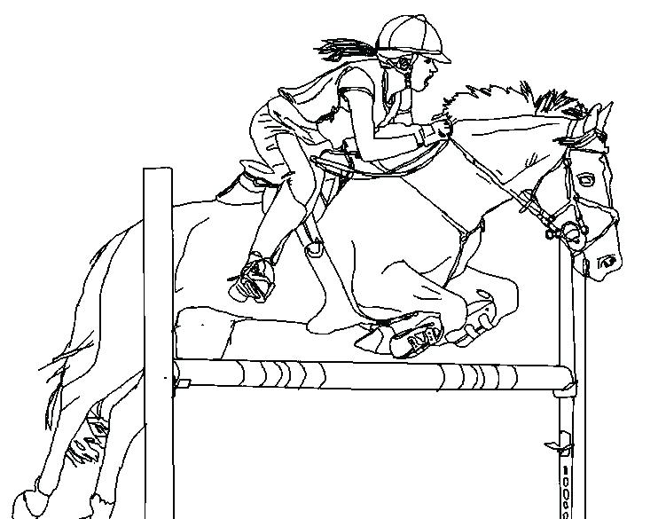 horse racing coloring pages at getdrawings  free download