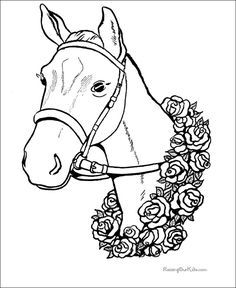 236x288 Kentucky Derby Color Sheets Kentucky Derby Coloring Pages Horse