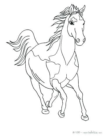 Horse Racing Coloring Pages At Getdrawings Com Free For Personal