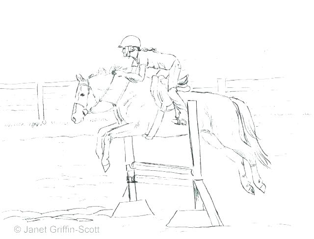 640x487 Horse Racing Coloring Pages Horse Racing Coloring Pages Horse