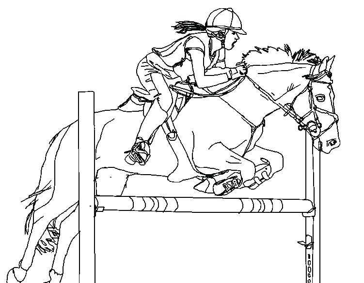 751x585 Horse Riding Coloring Pages S Horseback Riding Coloring Sheets