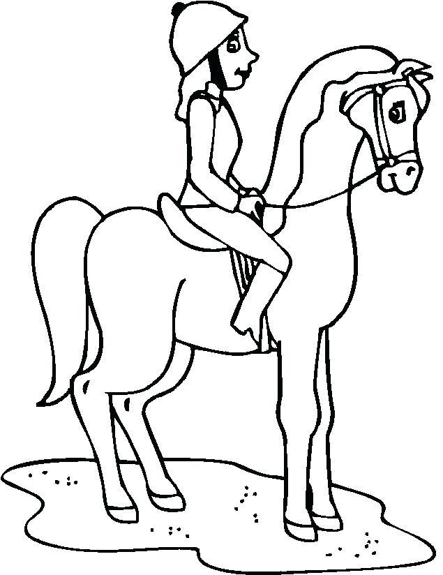 635x824 Horseback Riding Coloring Pages Horseback Riding Coloring Sheets