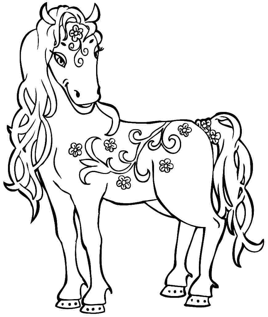 870x1028 Confidential Horse Trailer Coloring Pages New