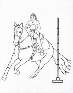 236x303 Free Printable Rodeo Coloring Pages Free Fun Rodeo