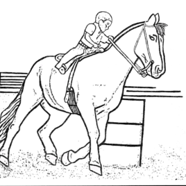 268x268 Horse Trailer Coloring Page Archives