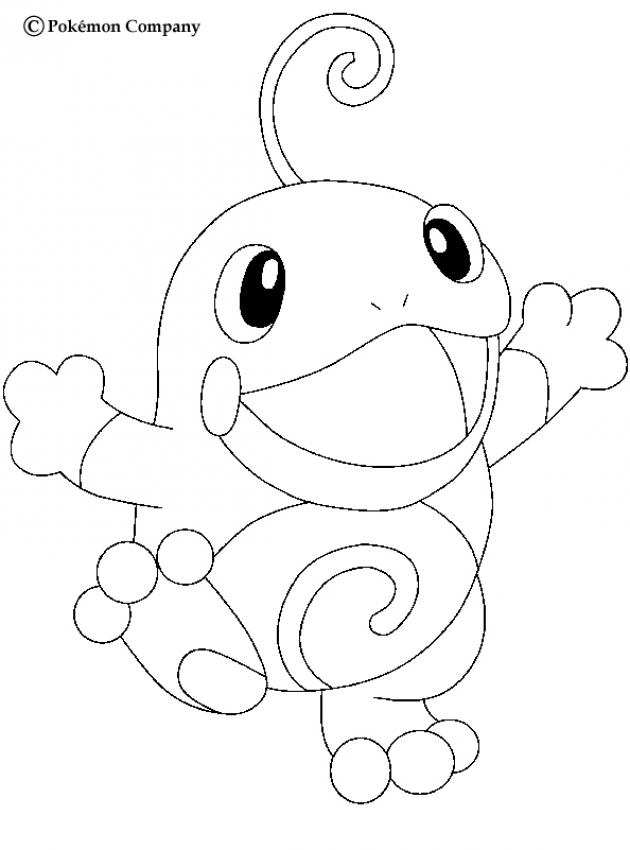630x850 Horsea Coloring Pages