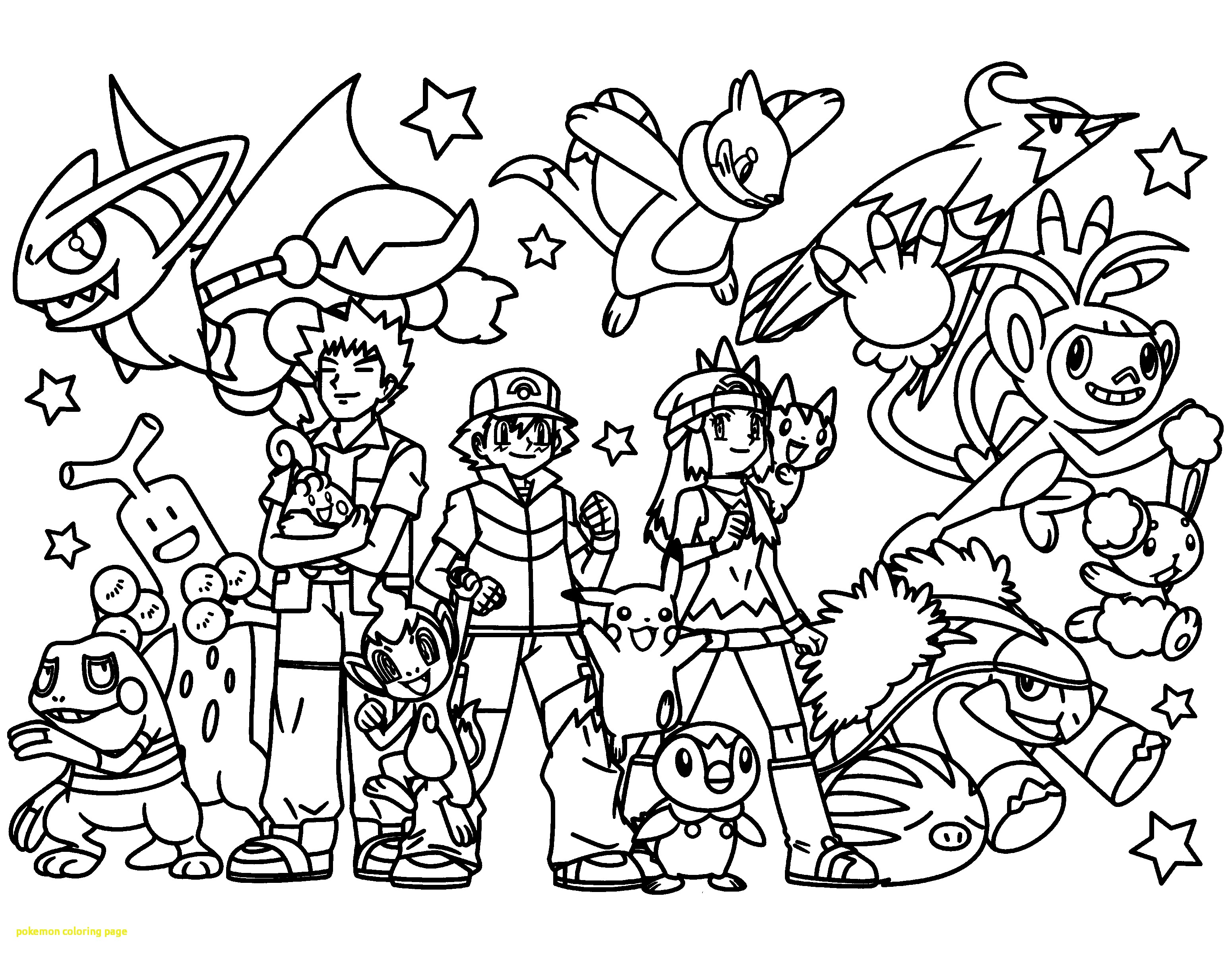 3100x2400 Pokemon Coloring Pages Cyndaquil