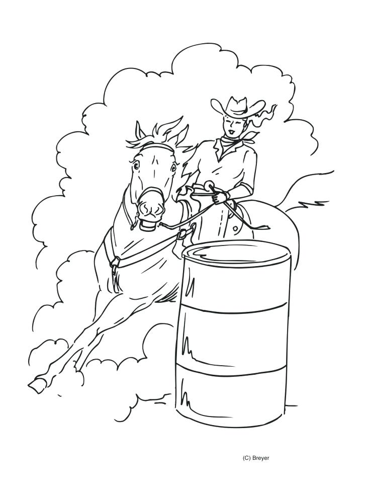728x990 Barrel Racing Coloring Pages Coloring Pages Barrel Racing