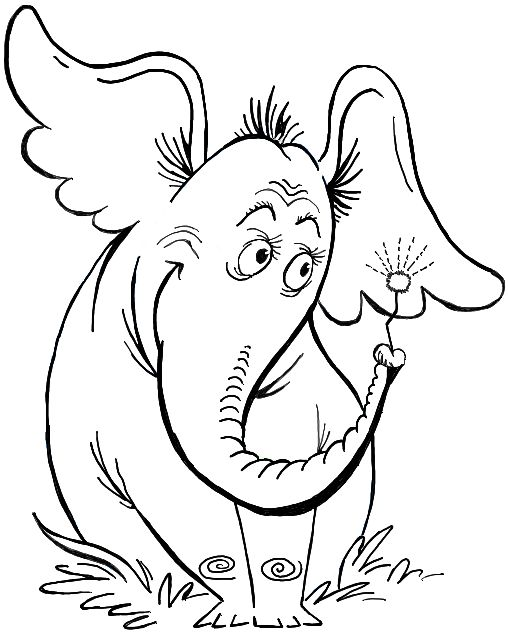 Horton The Elephant Drawing At Getdrawings Com Free For Personal