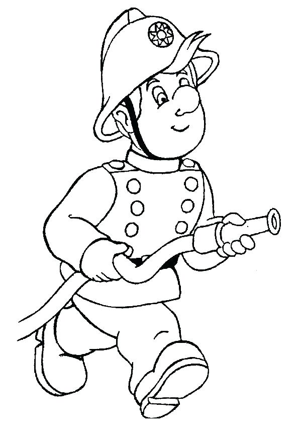 595x842 Fireman Coloring Pages Fireman Colouring Pages A Other Firefighter