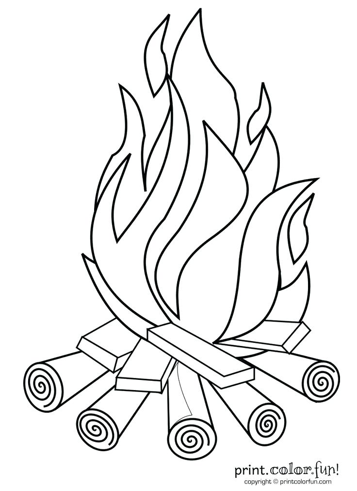 736x1012 Fire Coloring Pages Fire Fighters With Hose Fire Truck Coloring