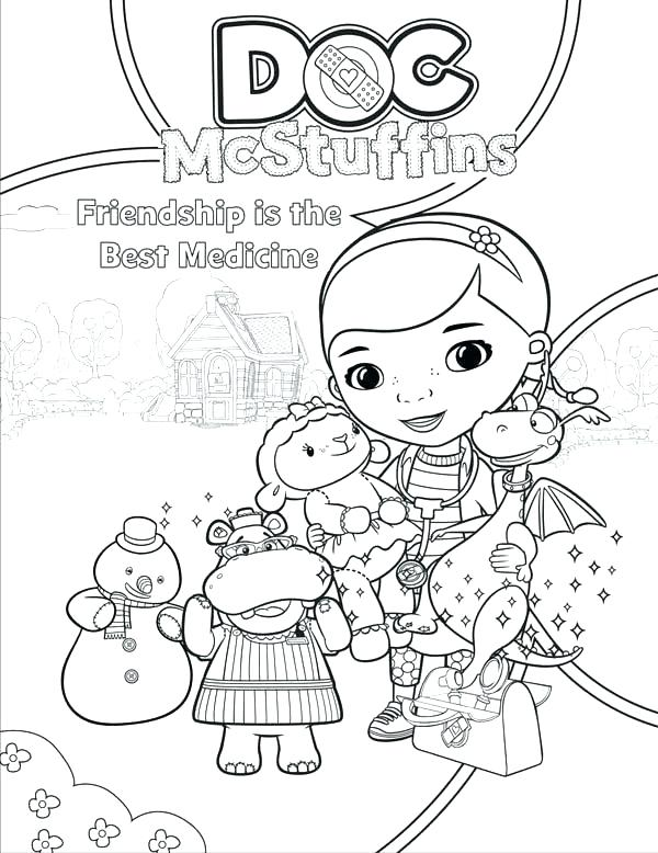 600x778 Hospital Coloring Pages Doc Coloring Pages Doc Toy Hospital