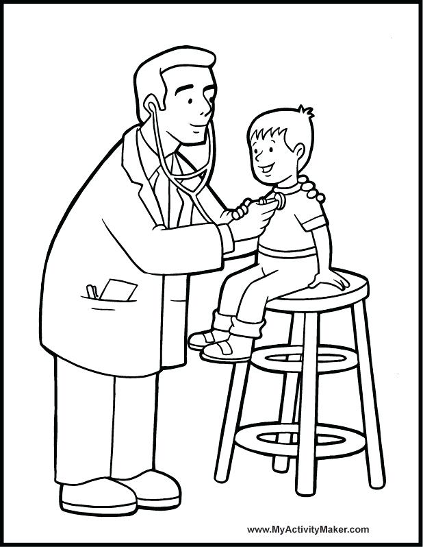 618x798 Hospital Coloring Pages Good Construction Coloring Pages