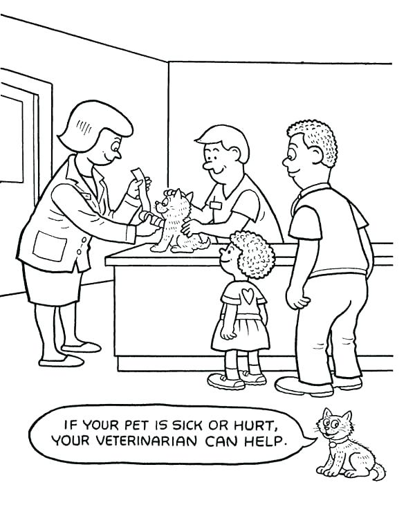 600x730 Hospital Coloring Pages Childrens Hospital Coloring Pages