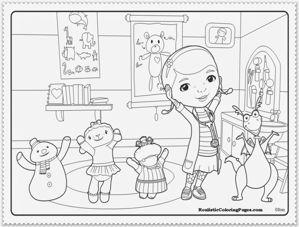 1023x777 Hospital Coloring Pages For Kids Printable Web Simple Acpra