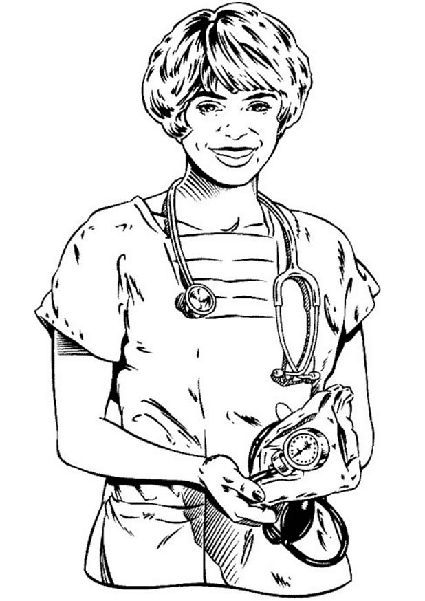618x874 Kids N Coloring Pages Of Hospital