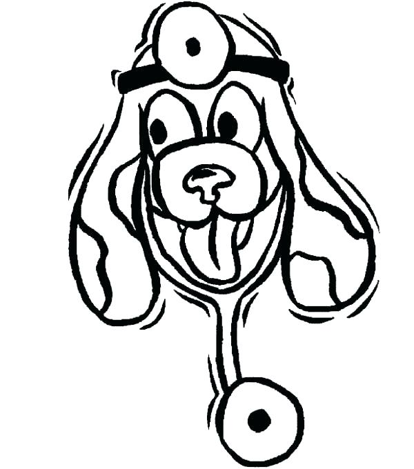 600x680 Veterinarian Coloring Page Veterinarian Coloring Pages Animal
