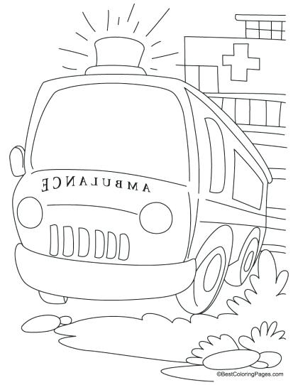 Hospital Coloring Pages Printables