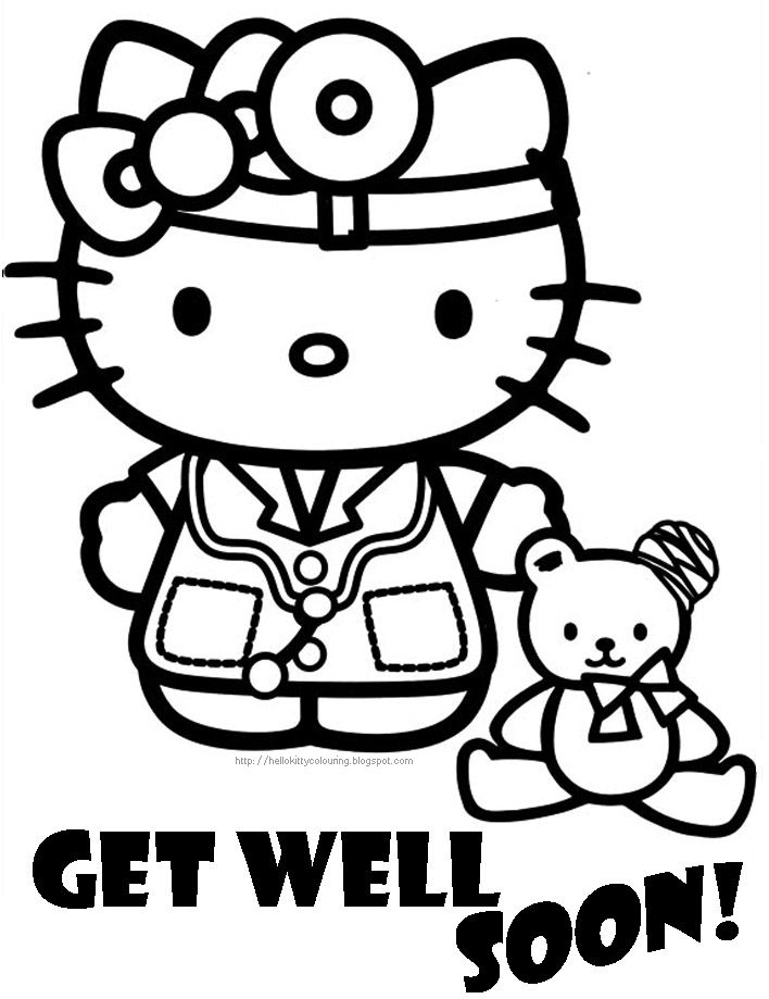 708x919 Get Well Soon Coloring Pages To Download And Print For Free