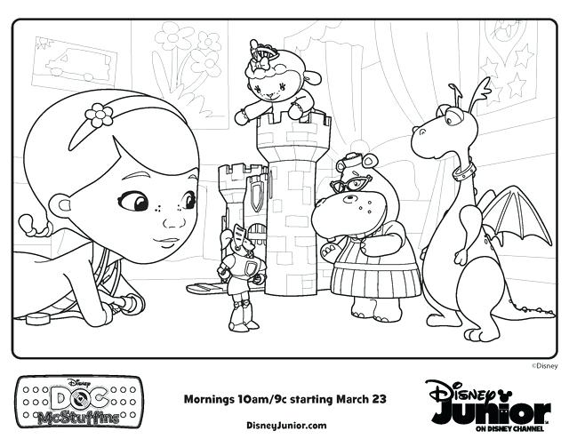 640x494 Hospital Coloring Pages Puppy Coloring Pages Doc Mcsins Toy Doc