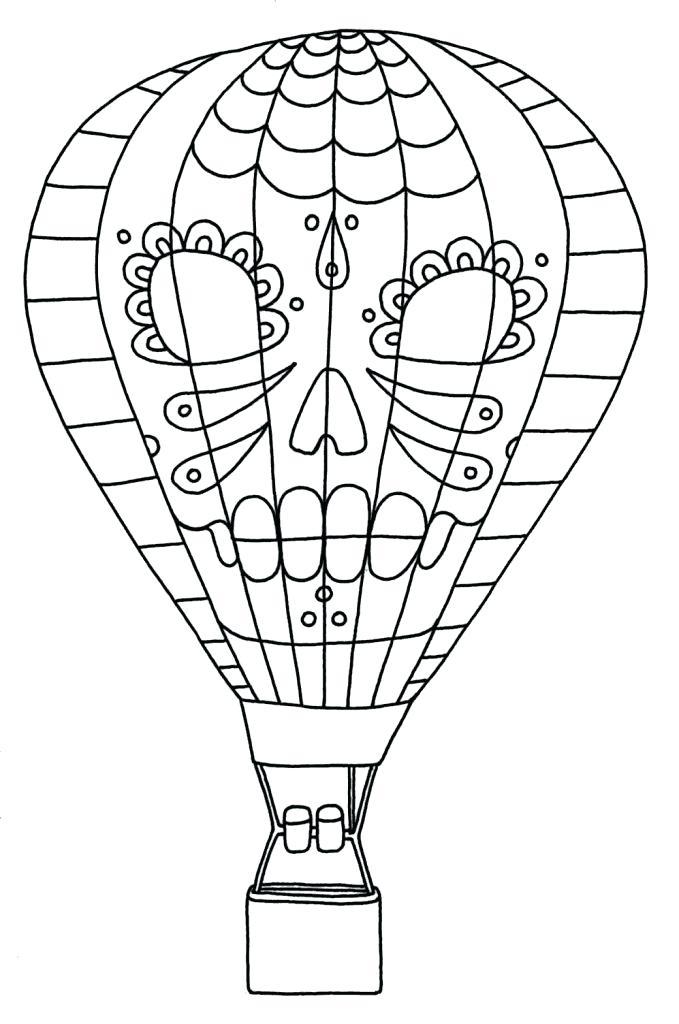 679x1024 Hot Air Balloon Printable Kits Air Balloon Coloring Pages Free Hot