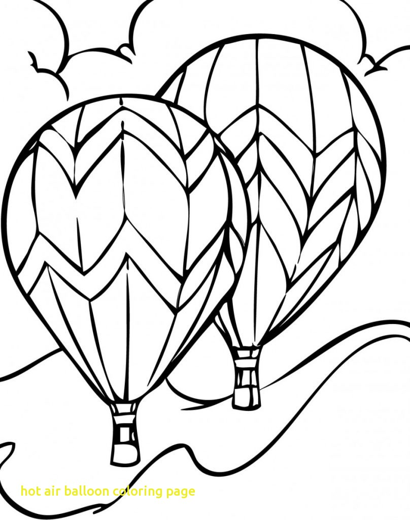 808x1024 Hot Air Balloon Coloring Page With Hot Air Balloon Coloring Pages