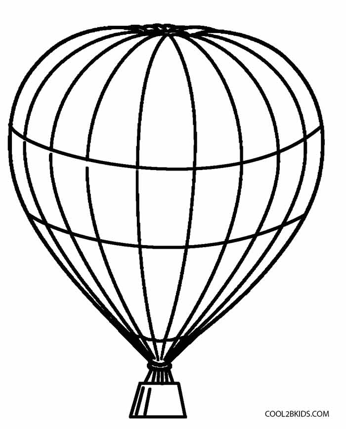 700x868 Printable Hot Air Balloon Coloring Pages For Kids