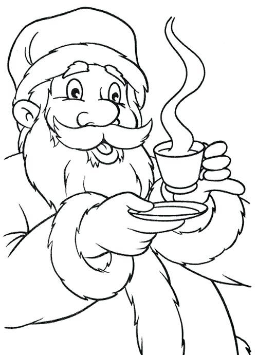 500x691 Hot Chocolate Coloring Page Hot Chocolate Mug Coloring Page Hot
