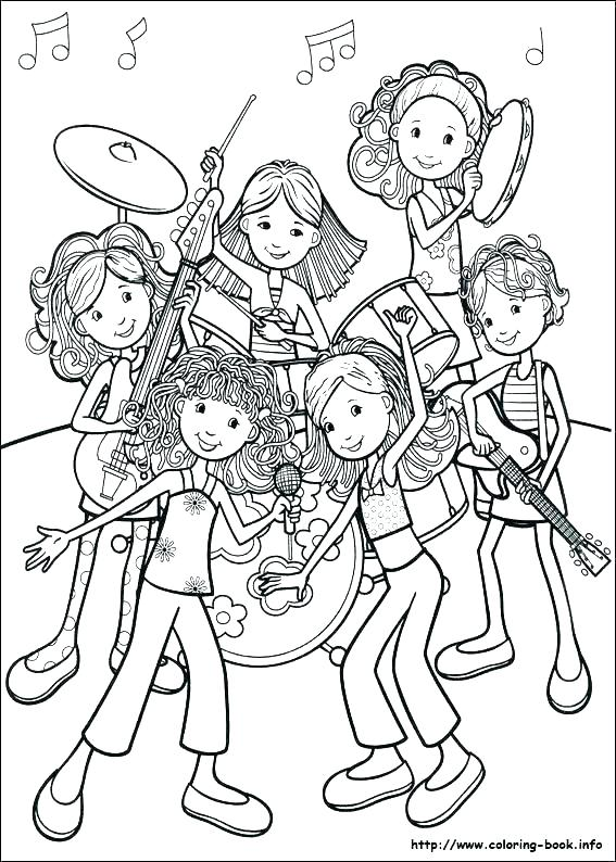 567x794 Girls Coloring Pages Kids Coloring Hot Girl Coloring Pages Yidam