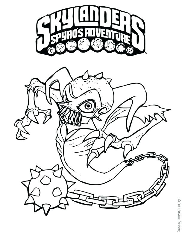 618x799 Printable Skylanders Coloring Pages Color Page Ghost Roaster