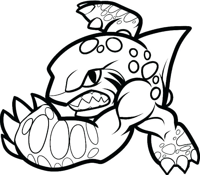 690x603 Skylander Coloring Pages Printable Coloring Pages Of Coloring