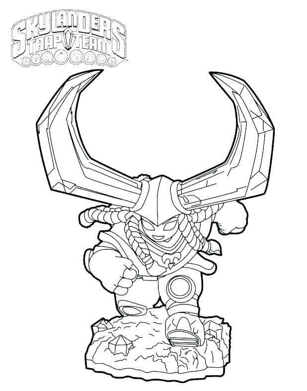 618x786 Skylander Giants Coloring Pages Free Printable Coloring Pages Free
