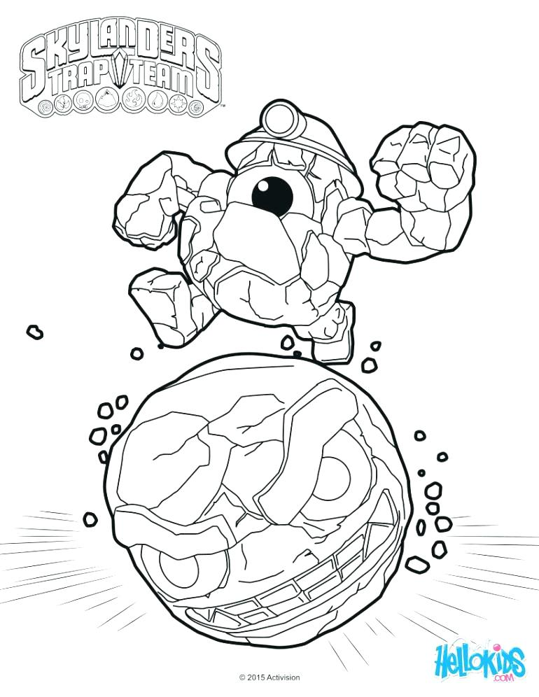 770x996 Skylander Printable Coloring Pages Trap Team Coloring Pages Stock