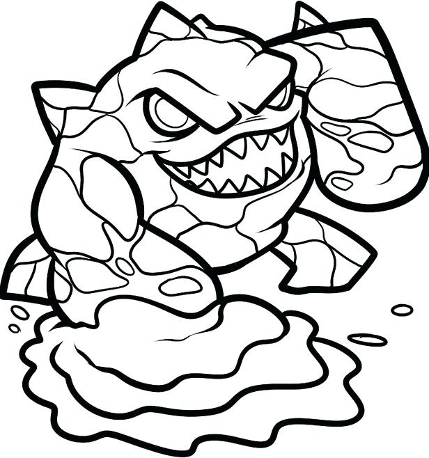 616x658 Coloring Pages Skylanders Giants Coloring Pages Free Printable