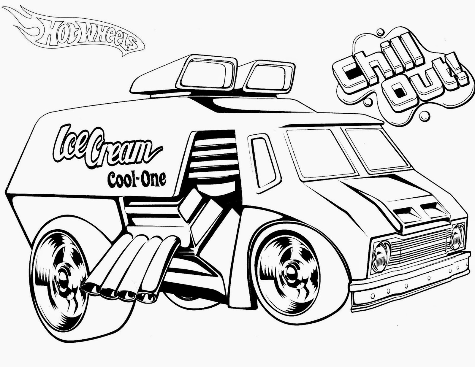 Hot Wheels Cars Coloring Pages At Getdrawings Free Download