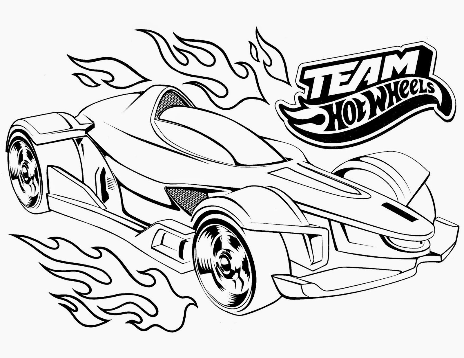 Hot Wheels Coloring Pages At Getdrawings Free Download